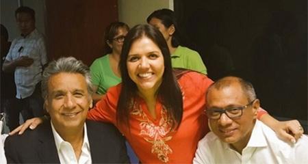Ma. Alejandra Vicuña la nueva vicepresidente de Ecuador. Mire aquí quienes votaron por ella.