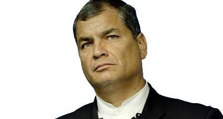 Le dicen a Rafael Correa que tiene «cara de idiota»  en una entrevista radial en vivo (Video)