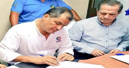 Rafael Correa se desafilia de Alianza PAIS
