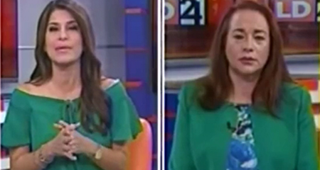 Canciller María Fernanda Espinosa se molesta ante las preguntas de periodista (Video)