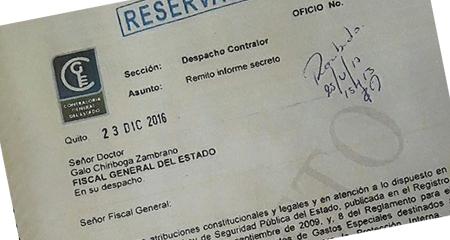 Ex Asambleísta Andrés Páez asegura tener informe de Contraloría que fiscal Baca Mancheno dice que no existe