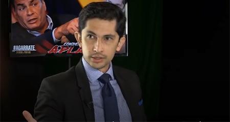 Francisco Endara, condenado por aplaudir, habla sobre la consulta popular de este 4 de febrero (Video)