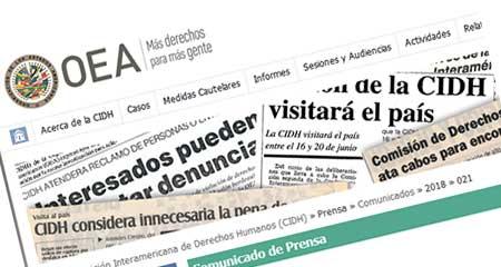 CIDH pide medidas provisionales a favor del actual Consejo de Participación Ciudadana para que no sean destituídos