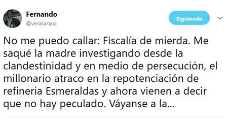Reacciones tras conocerse de la abstención de fiscalía a favor de CAPAYA