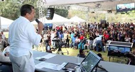 La Fiscalía investiga a 9 personas por sabatinas de Correa