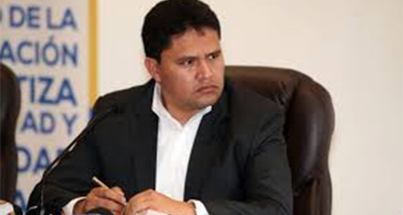 Rommy Vallejo renuncia a la Secretaría de Inteligencia