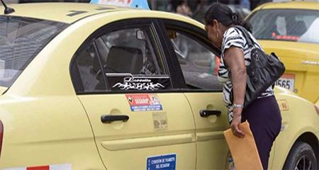 Taxistas anuncian protestas contra Uber, Easytaxi y Cabifiy