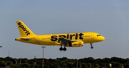 Llega a Ecuador Spirit, aerolínea de bajo costo.