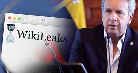 Wikileaks defiende a Julian Assange y dice que Lenin Moreno miente