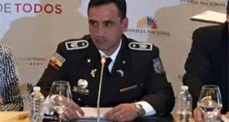 Policía afirma que fue presionado para cambiar parte policial sobre audio que presentó Fiscal Carlos Baca Mancheno