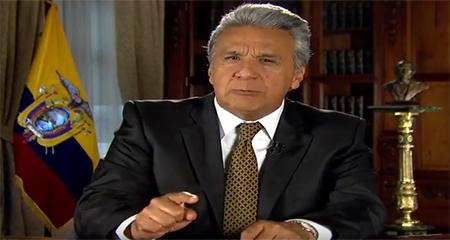 Lenin Moreno dice que en el gobierno de Correa los narcos transitaban tranquilamente por el Ecuador