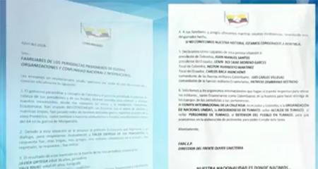 Disidentes de las FARC piden «condiciones humanitarias» para entregar los cuerpos de los trabajadores de El Comercio