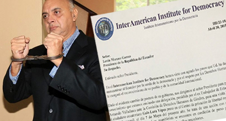 Interamerican Institute for Democracy anuncia visita a preso político Galo Lara
