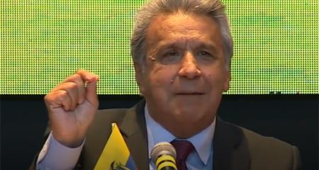 Declaraciones de Lenín Moreno causaron burlas y enojo
