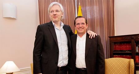 Ecuador gastó al menos 5 millones de dólares para proteger a Julián Assange en la embajada