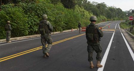 Patrulla militar está desaparecida en la frontera norte
