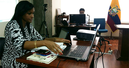 Directora de UAFE, Diana Salazar, recuerda investigación por tráfico de influencias de abogado Caupolicán Ochoa