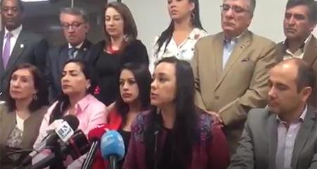 Gabriela Rivadeneira pide a Rafael Correa no acatar orden de jueza