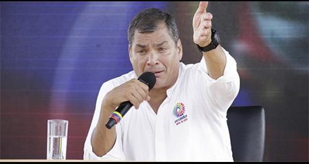 Rafael Correa no se presentó en la Corte de Justicia en Quito como solicitó jueza