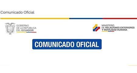Gobierno ecuatoriano rechaza  «actos beligerantes» de la fuerza pública nicaraguense