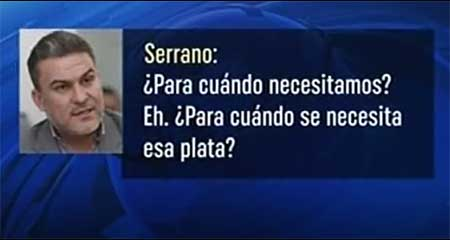 Audio filtrado implicaría a José Serrano en secuestro de Fernando Balda (Video)