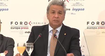 Lenin Moreno dice que Rafael Correa se había convertido en un matón de barrio (Video)