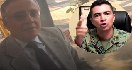 Capitán Edwin Ortega reclama a Alexis Mera por la persecución que sufrió en el correísmo (Video)