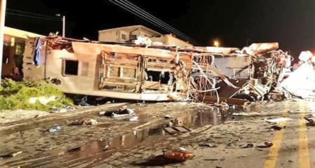 Cancillería publica nombres de fallecidos en accidente en vía Pifo - Papallacta