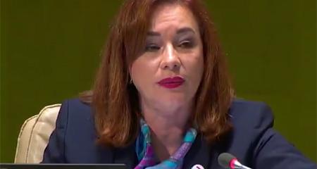 María Fernanda Espinosa ve desarrollos positivos en Venezuela y Nicaragua