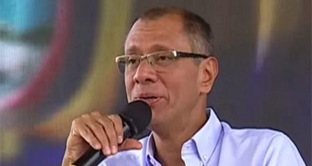 Jorge Glas es trasladado a la cárcel de Latacunga
