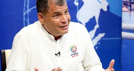 Confirmado: Rafael Correa pidió oficialmente asilo en Bélgica