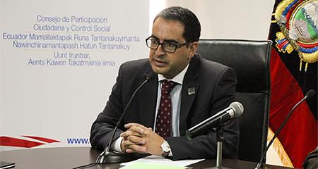 Fiscal General, Paúl Pérez, renuncia