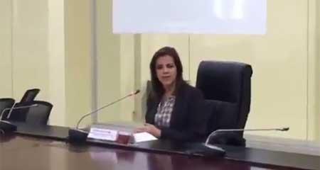 María Paula Romo defensora de Lenín Moreno en caso de donación sospechosa de empresario