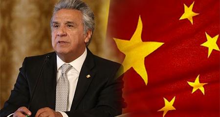 Ecuador se endeuda nuevamente con China. Esta vez por 900 millones de dólares