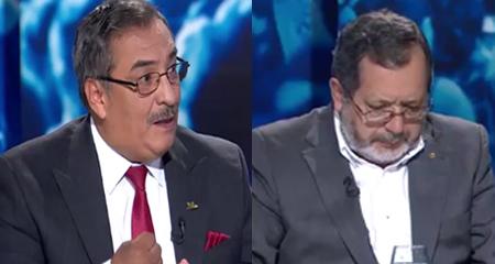 Crnl. Mario Pazmiño, Carlos Larreátegui, diputada venezolana Dinora Hernández y Dr. Víctor Granda discuten sobre Venezuela