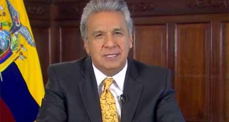 Lenín Moreno anunció préstamos al Ecuador por 10.200 millones de dólares