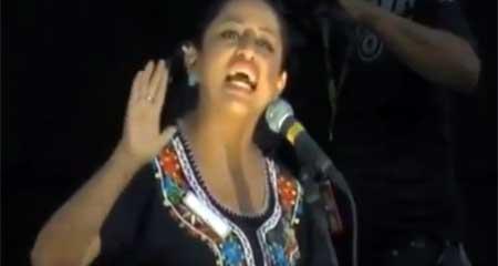 Paola Pabón, candidata del correísmo, dice que la compañera de Bolivar fue «Manuela Chávez» (Video)