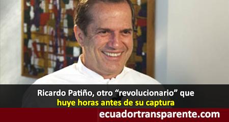 Ricardo Patiño huye del Ecuador y dice ser perseguido político