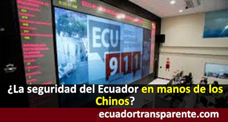 Sistema 911 del Ecuador en manos Chinas. New York times advierte riesgos de uso con fines políticos represivos