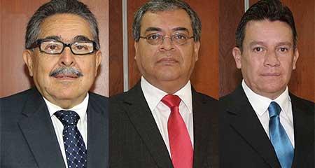 Tres jueces no quieren que se investigue sus cuentas bancarias