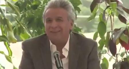Lenin Moreno se disculpa tras su desafortunada declaración sobre el «monito de 5 años »