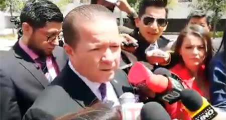 Presentan denuncia contra José Serrano por intento de asesinato