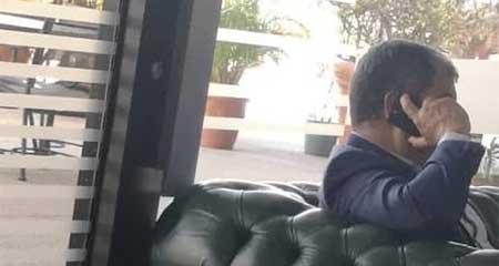 Rafael Correa fue visto en aeropuerto de Venezuela