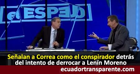 Carlos Sánchez Berzaín señala a Correa como el conspirador detrás de la crisis en Ecuador (video)