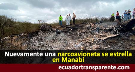 Narcoavioneta que cayó hace 2 días tenía como destino México