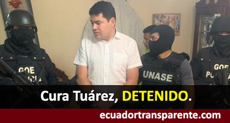 Cura Tuárez detenido. Es investigado por tráfico de influencias