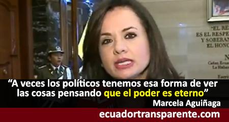 Marcela Aguiñaga ahora dice que fue un error no aceptar la legitimidad de la CIDH (Video)