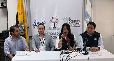 Se confirma coronavirus en Ecuador, 15 días después de haber ingresado