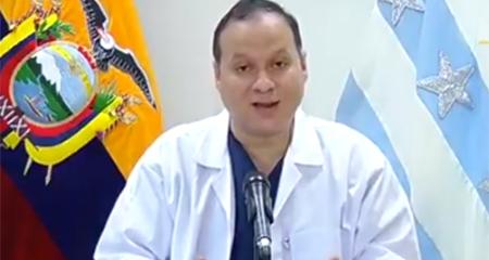1600 médicos podrían estar contagiados con coronavirus según viceministro de salud de Ecuador