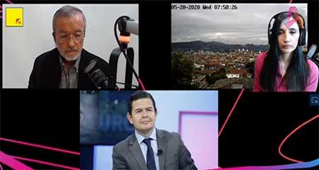 Juan Sebastián Roldán defiende cargos de familiares en el Estado (Video)